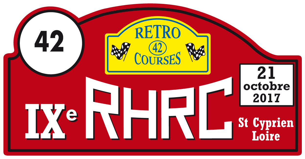 Plaque retro course 2017